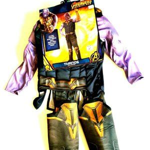 Marvel Thanos Super Heroes Child Kids Costume Size
